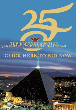 Regency Auction 25 Bid